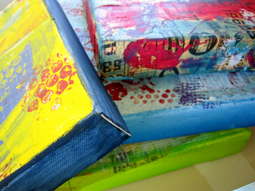examples of my mixed media work (not workshop sample)