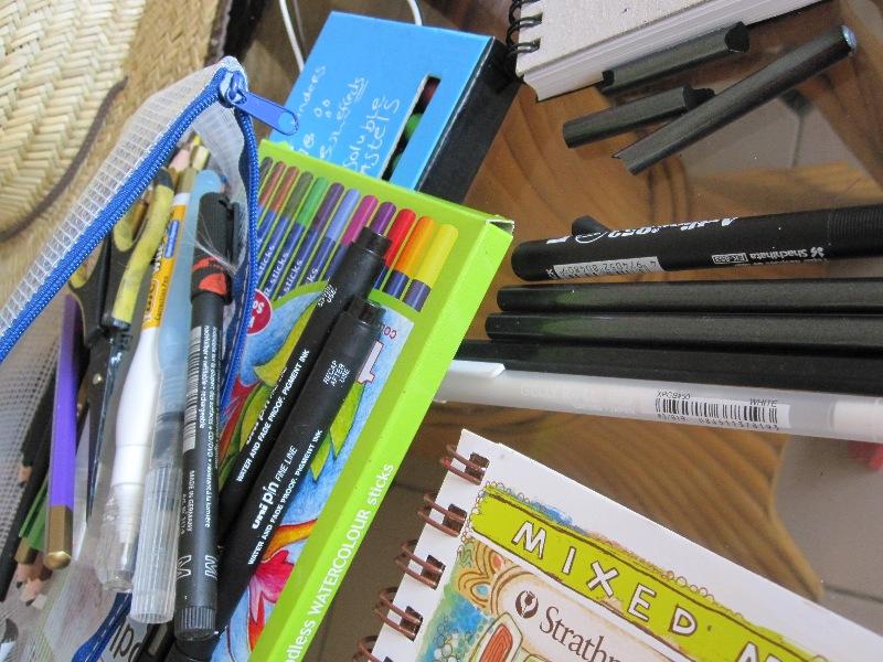 Holiday Art Journalling Tool Kit