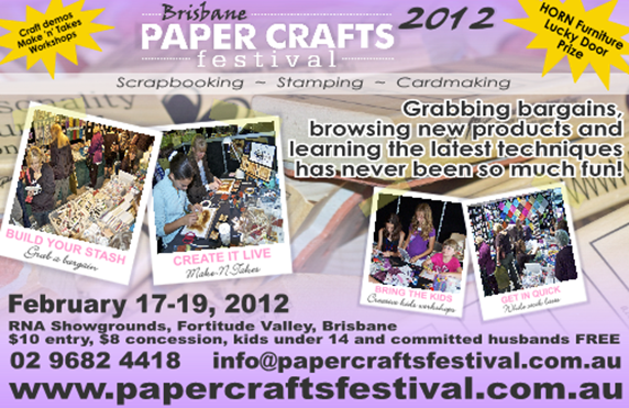 Papercrafts Festival in Brisbane