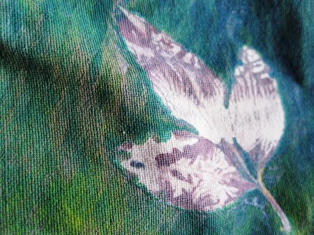 fabric mono leaf