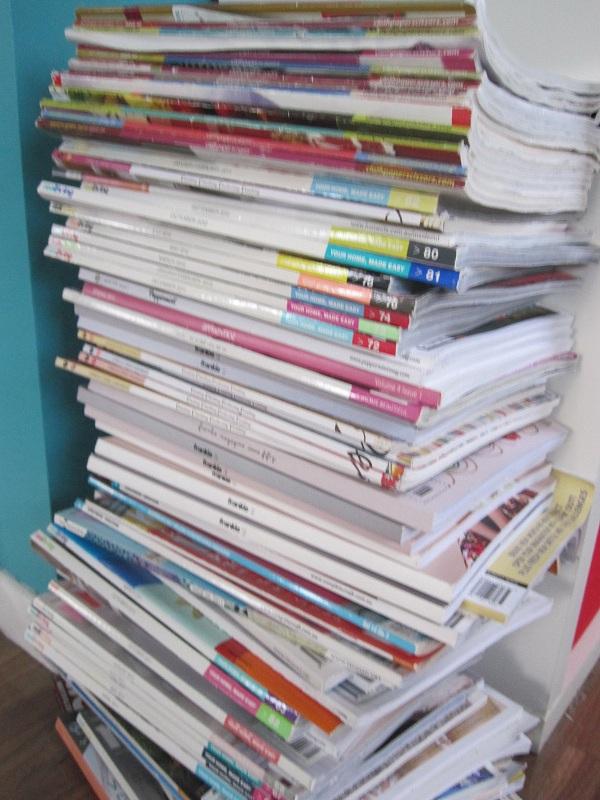Magazine purge!